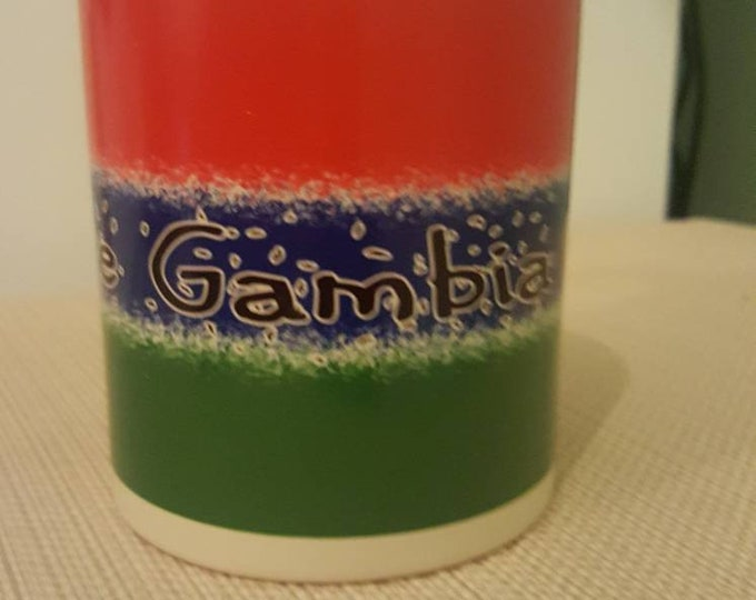 The Gambia heat and reveal mug