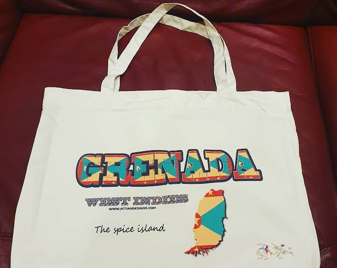Grenadian tote bag