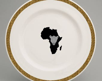 Congolese Dinner plate