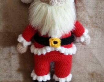 handmade santa claus for christmas amigurumi santa claus best christmas gift crocheted santa claus toy