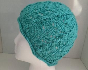 Lacy Handknit Hat