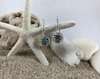 Small Thunderdome Hanging Earrings