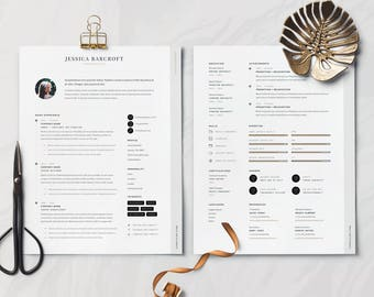 Modern Resume Template for Microsoft Word | Professional Resume | Best Resume Template |  Creative Resume | CV Template + Cover Letter