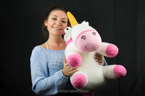 Knitting Pattern Lifesize Unicorn From Despicable Me