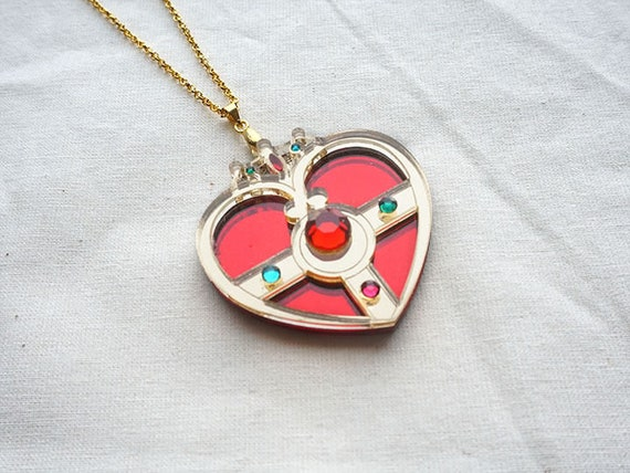 SAILOR MOON Hand-made Tsukino Usagi/Serena Cosmic Heart Compact Jewelry
