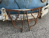 Antique Cast Iron Shelving Brackets 18 Tall