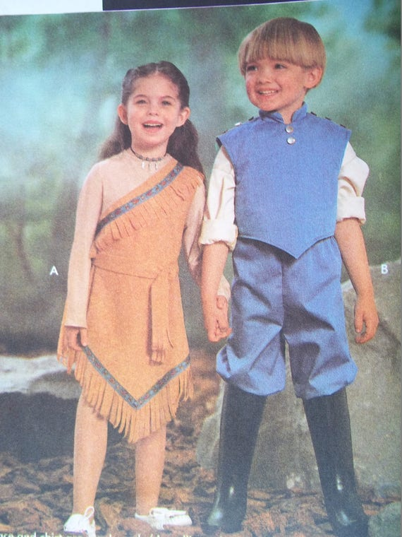Attractive Pocahontas Sewing Pattern Ensign - Knitting Pattern Ideas ...