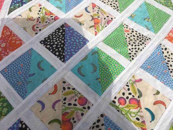 toddler blanket handmade by stitchmystashCrafts Baby quilt