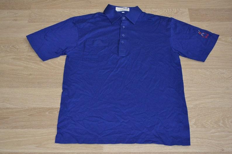 Vintage Pringle Tshirt Mens Streetwear T-shirt Polo Nick Faldo Collection Cotton Casual Tshirt 100/% Cotton Size M