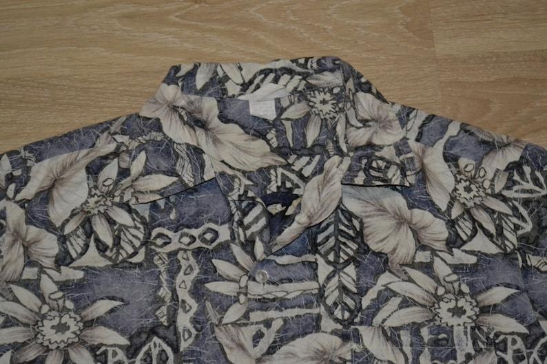 Vintage Hawaiian Shirt Party Shirt Luau SALE Tropical Travel Tourist Vintage tiki BBQ Men/'s Size M Hot Rod Tiki Shirt Aloha Shirt