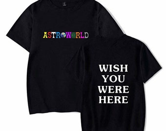 dc7caea1 Inspired Astroworld tshirt Travis Scott