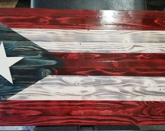 80c6024a8ac3 Puerto rico flag art | Etsy