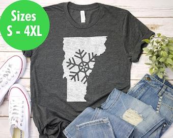 6ac375afa Vermont Christmas Shirt, Killington Ski Shirt, Stowe Vermont, Sugarbush, Ski  Vermont, Okemo Ski Shirt, Jay Peak, Smugglers Notch Skiing