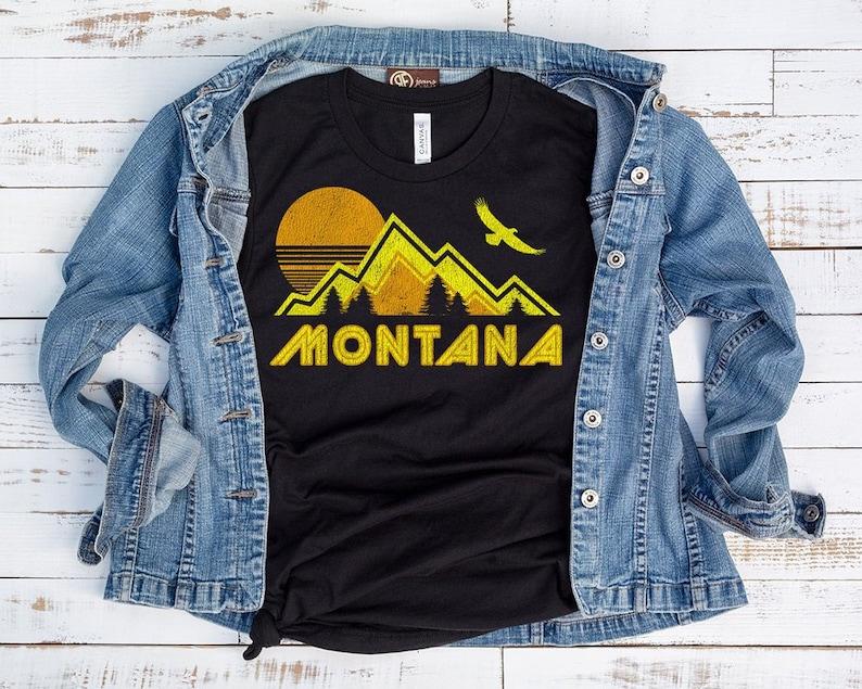 Montana Shirt Montana Home Shirt Montana State Montana Etsy