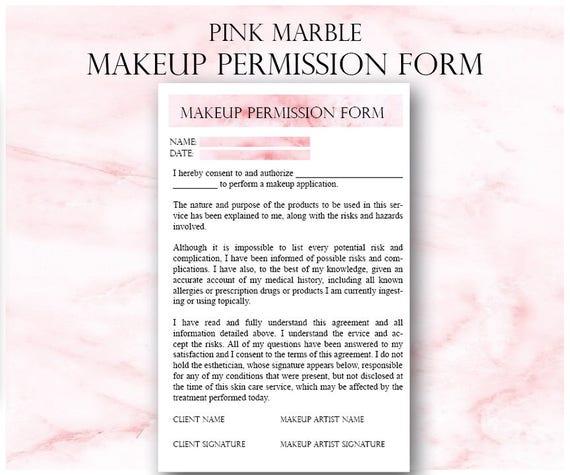 pink makeup artist business planner bundle freelance
