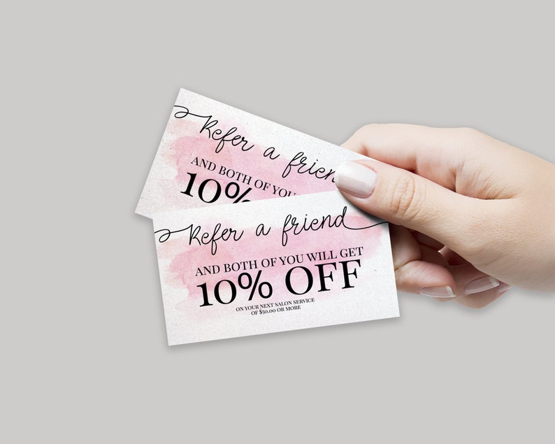 Hairdresser Card Hair Salon Cards Hair Stylist Branding Bundle Pink Marble Hair Salon Marketing Set