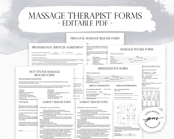picture about Printable Massage Intake Form titled Mage Therapist Place of work Planner, Mage Consent Sorts, Patient Consumption Kind, Reflexology Varieties