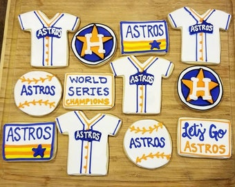 Astros World Series Cookies