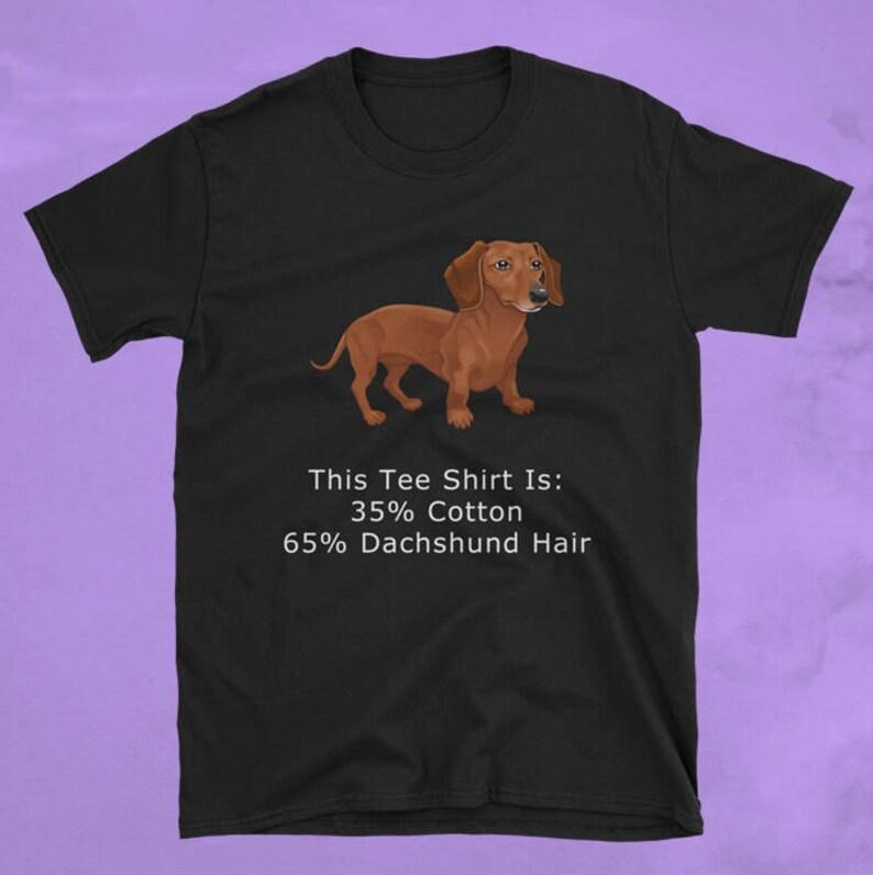 69adba293 Dachshund T Shirt Dachshund Shirt Dachshund T-shirt | Etsy
