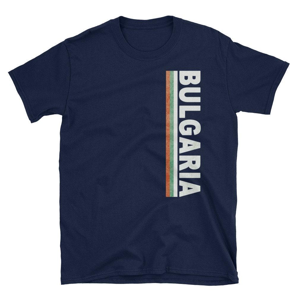 Bulgaria T-shirt Bulgarian Jersey Tee Flag Shirt Football Soccer Player Fan Game Sports Team National Pridevacation Shirt Unisexme LongSleeve Tee