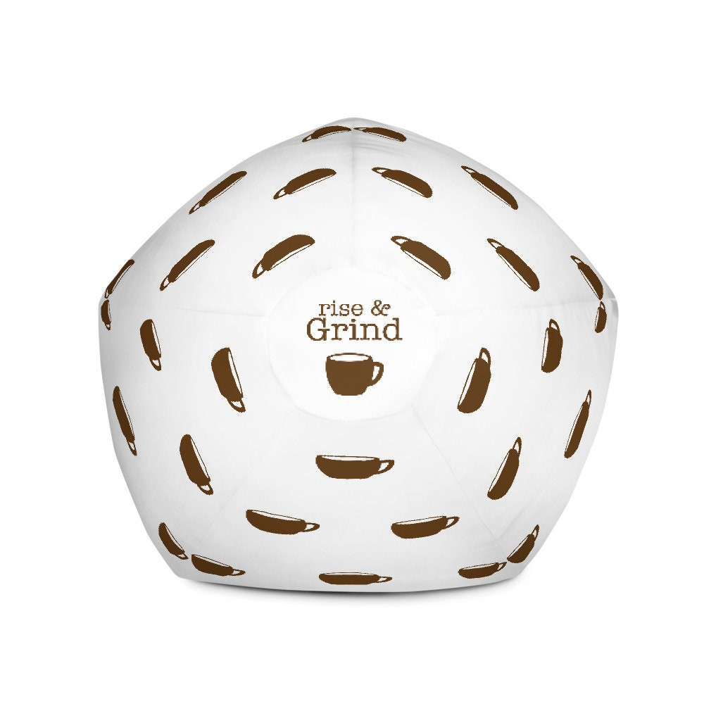 Rise & Grind Bean Bag Chair Cover