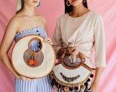 La La Tote, Straw Tote, Vegan Leather, Ethical Made Handbag, Round Tote, Straw Handbag, Boho Handbag