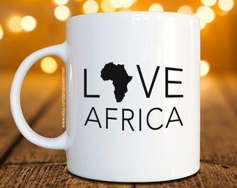 Love Africa Coffee Mug / Cup