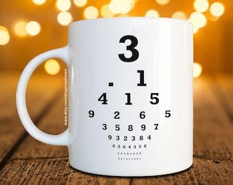 Mathematics Pi Constant Coffee Mug / Cup