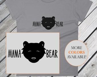 Mama Bear Shirt – Momma Bear Women's T-shirt