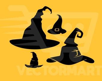 Witch Hat Svg Etsy