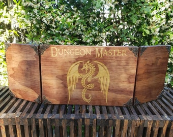 Dungeon master screen | Etsy
