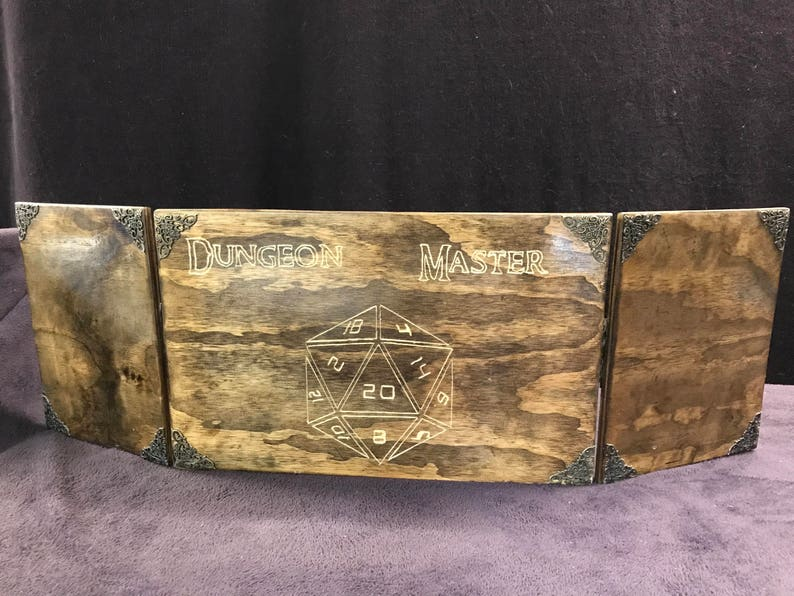 Wooden Dungeon Master Screen