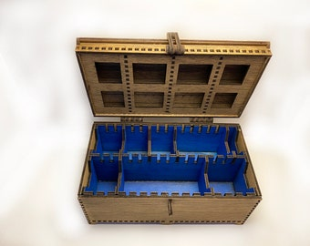 Large Deck Box: Wooden, Handmade and ~CUSTOMIZABLE~