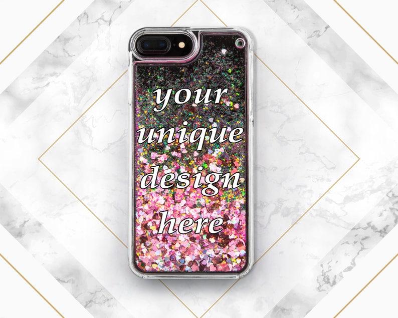 huge discount 10fbd c0a8d Custom iphone case iPhone case glitter Customize case Custom phone case  iPhone 7 Plus case iPhone 7 case iPhone 6s case iPhone 6 case iPhone