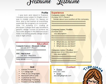 Resume for beginner | 1 Page