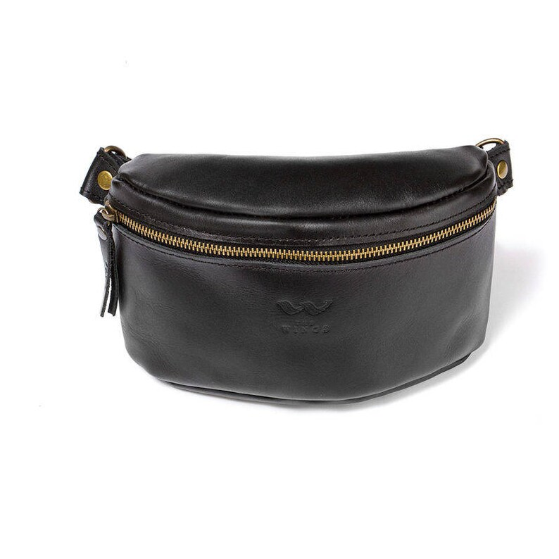 Leather fanny pack waist bag belt bag fanny bag men belt bag