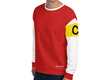 59ac64f10 Proper Football - Arsenal FC 1970 Style - Vintage Gunners Cult Football Kit  - Comfy Sweatshirt for Supporters - Retro Soccer Jersey Print