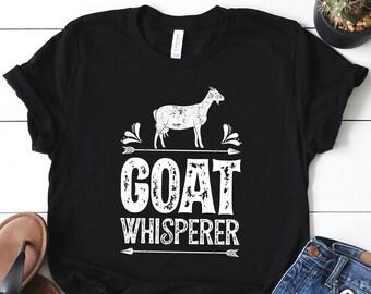 4cf3a275376db Goat Whisperer Shirt   Goat Shirt   Goat Gifts   Goats   Goat Tshirt   Goat  Tee   Goat Lover Gift   Goat T-shirt   Tank Top   Hoodie