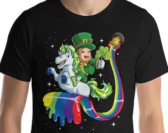 Unicorn Leprechaun T Shirt St Patricks Day Shirt for Men Women Boys Girls Kids | Lepricorn | Saint Pattys Day | St Paddys Day Shirts Funny
