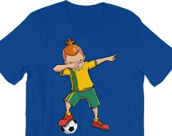 b9bbea4ea Soccer Boy Dabbing Dab Dance T shirt Funny Football Boys Gifts Tees