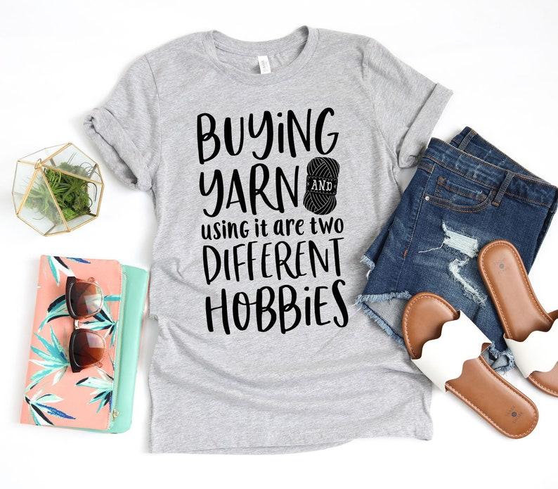 Buying Yarn and Using It Crochet Shirt / Crochet Gifts / image 0