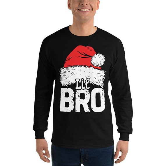 Little Brother Christmas Santa T Shirt Family Matching Pajamas  9fe818930