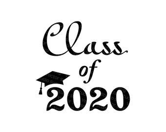 Graduation Svg Senior 2019 Svg Graduation Cap Svg Cut Files Etsy