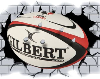 rugby wall art etsy