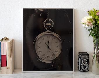 The Stoppwatch | analog Tintype Photograph