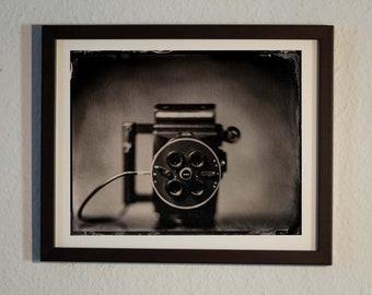 Polaroid Mini Portrait | Poster | analogue photography