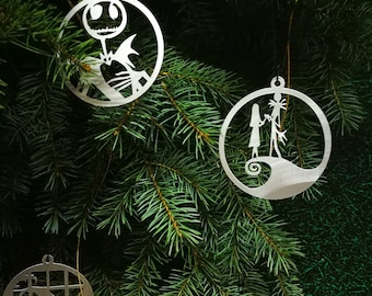 popular items for nightmare before christmas decorations
