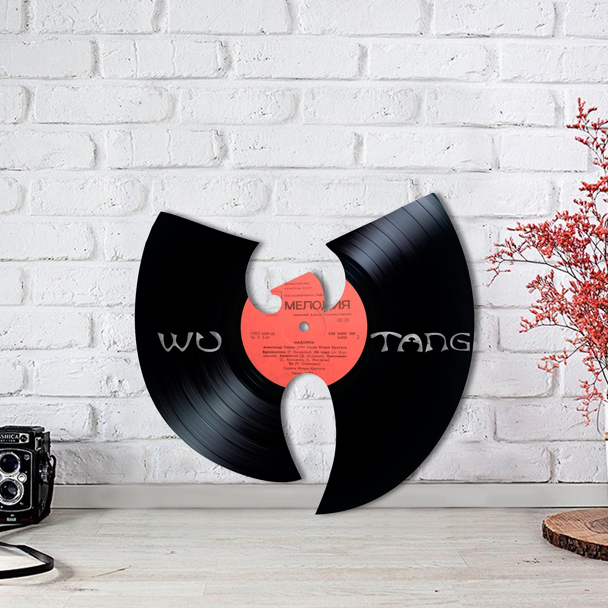 Wu Tang Vinyl Wu-Tang Clan Hip Hop Spieluhr Kunst Drucken | Etsy