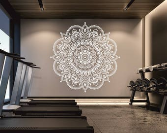 Popular Items For Mandala Wall Decal