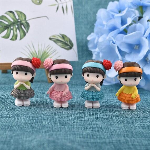 Cute Licorne Miniature Figurine Fée Jardin Dollhouse décor Micro landscapek 6